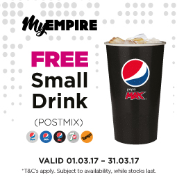 Empire Free Drink