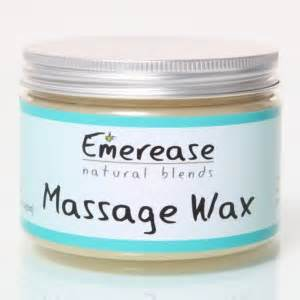 Free Emerease Massage Wax