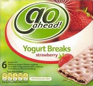 Free Go Ahead Yogurt Snacks