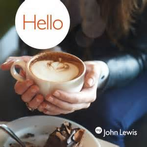 Free John Lewis Hot Drink