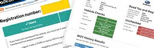 Free MOT And Car Tax Check