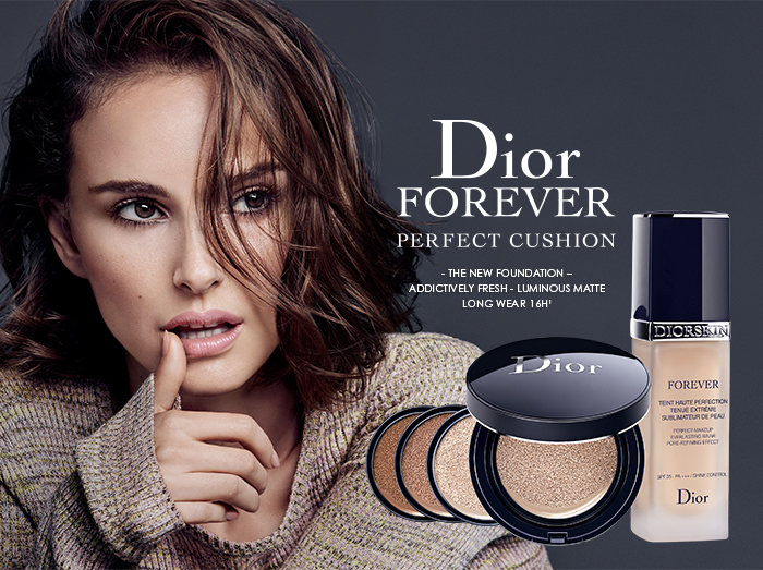 FreeNEW: DIORSKIN FOREVER PERFECT CUSHION
