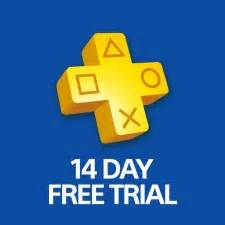 Free PlayStation Plus 14 Day Trial