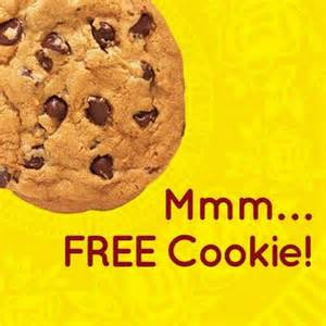Free Subway Cookie