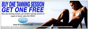 Free Tanning Session