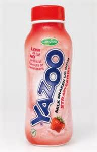 Free Yazoo Strawberry Milkshake