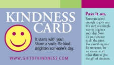 Get The Card. Pass It On.