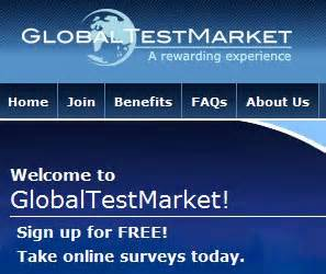 GlobalTestMarket - Get Paid