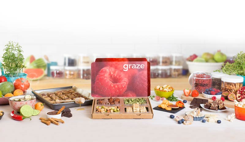 Graze | Healthier Snacks By Post