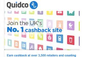 Quidco - FREE Cashback On Shopping